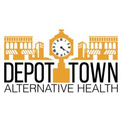 Depot Town Dispensary Logo